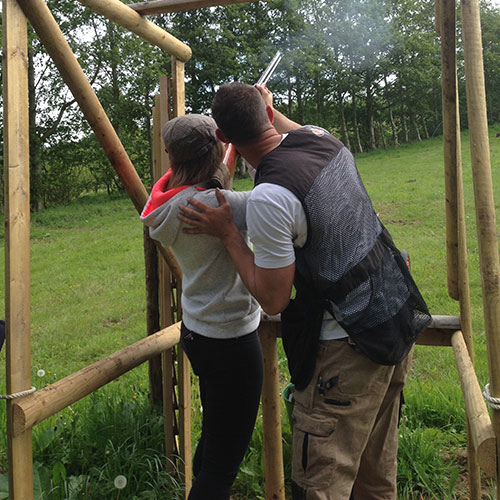 Clay Pigeon Shooting Lessons Gloucestershire