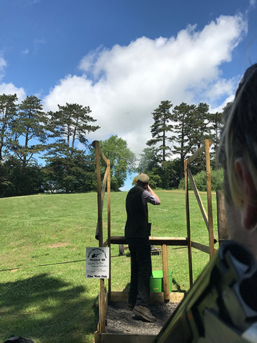Clay Pigeon Shooting Gloucestershire